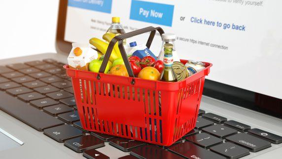 Cómo funciona el comercio electrónico de alimentos